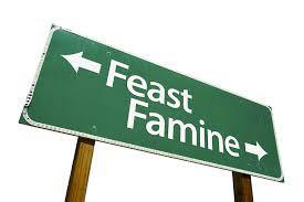 feast-famine